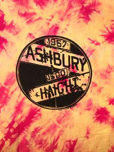 Haight Ashbury Vintage Mens Tie Dye T Shirt by GailsVintageGarden, $26.00