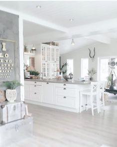 31 Popular Open Concept Kitchen You'll Totally Love # Home Design Decor, Küchen Design, Interior Design Living Room, House Design, Design Trends, Open Plan Kitchen Living Room, Open Concept Kitchen, Home Decor Inspiration, Kitchen Remodel
