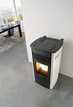 pellet stove can be easily installed