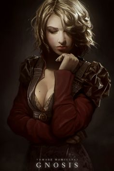 Human Female Rogue - Art by Kler by noiprox on deviantART Female Character Inspiration, Fantasy Inspiration, Girl Inspiration, Fantasy Women, Fantasy Girl, Fantasy Rpg, Character Portraits, Character Art, Character Concept