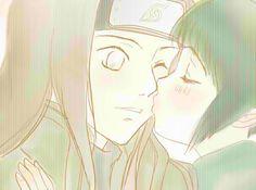 Neji and Hinata nose kiss ;-)