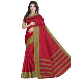 Looks beautiful in traditional attire here is the perfect traditional saree for all type of occasion. This saree is designed with Printed work. A blouse fabric is combined with this saree. This is perfect option to gift to your sister on this Rakhi Festival.|Blouse Fabric : Silk | Saree Length : 5.5 mtr|Blouse Length : 0.80 mtr