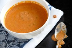 homemade cream of tomato soup--no more Campbell's from a can for me!