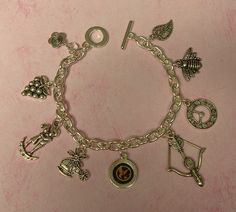 A Hunger Games charm bracelet! I want one (: