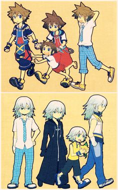 Kingdom Hearts (Sora & Riku) - Well think a little different in this, well lots a good things