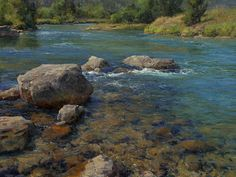 Clyde Aspevig-landscape painter originally from Montana.  http://www.clydeaspevig.com/