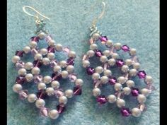The Lacey Earrings-Intermediate Tutorial - YouTube