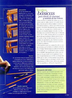 Manual de técnicas básicas Tapestry Weaving, Loom Weaving, Knit Mittens, Textiles, Diy And Crafts, Crochet, Handmade, Knitting, Loom Patterns