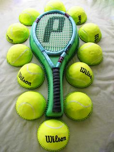 If Prince is your weapon maker of choice...go for it! Tennis cake