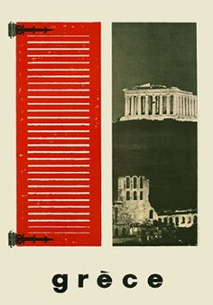 Athens, Parthenon, Greece Vintage travel - Athens, Parthenon and colourful shutters. Greece Tourism, Greece Travel, Spain Travel, Tourism Poster, Poster S, Old Posters, Amazing Street Art, Vintage Graphic Design, Greek Art