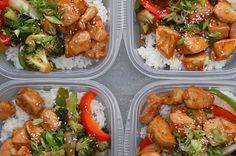 Ce poulet sauté aux légumes teriyaki est parfait pour emporter son déjeuner au bureau