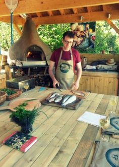 Fish Find Flame. A top half day course with Neil Keep and Tim Maddams. Fly fish forage and cook your own lunch! #Yum 01404 41266