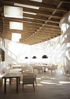 Mansarda Restaurant designed by Artem Oganayn
