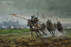 Temeris Lancers charging across the battlefield Military Art, Military History, Medieval World, Knight Armor, Inspirational Artwork, High Fantasy, Fantasy Artwork, Dungeons And Dragons, Kozik