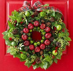 Decoração de Natal com guirlanda     II