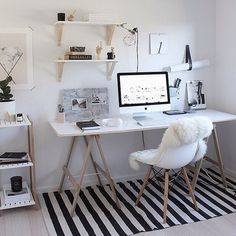 My ideal office by @thedesignchaser | #goals #thebest #office #favourite #interior #interiordesign #scandi #newzealand by immyandindi