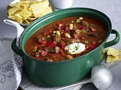 Chili-Rindfleisch-Topf Rezept