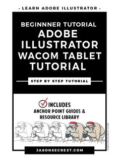 Step by Step Adobe Illustrator Tutorial with Wacom Tablet using the pencil tool and hand painted brushes to complete this Santa Cartoon. Web Design, Graphic Design Tutorials, Vector Design, Adobe Illustrator Tutorials, Photoshop Illustrator, Photoshop For Photographers, Photoshop Photography, Coloring Tutorial, Wacom Intuos