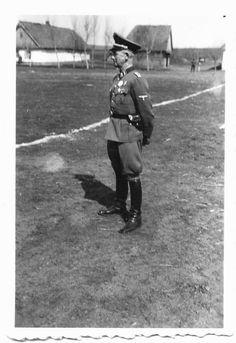 """Le """"SS-Sturmbannführer"""" Ernst Vifere ancien du """"Frikorps Danmark"""", puis chef d'un """"Pionier-Bataillon"""" de la SS-Division (Mot.) """"Wiking"""""""