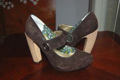 Seychelles Brown Suede Mary Janes Third Degree, Size 9.5 #Seychelles #MaryJanes