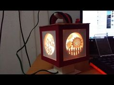 !To make for sure!  DIY How to make 3d kirigami lamp - YouTube