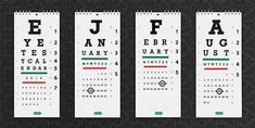 The perfect calendar for optometrists!