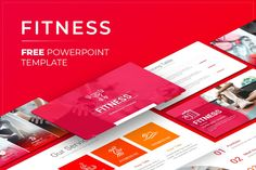 Free Fitness PowerPoint Presentation Template Free Powerpoint Presentations, Powerpoint Presentation Templates, Keynote Template, Free Fitness, Google