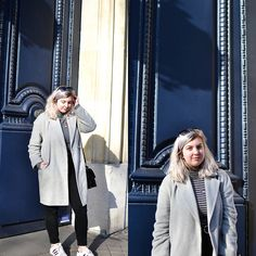 Get this look: http://lb.nu/look/8617525 More looks by Elizabeth Claire: http://lb.nu/wearshesgone Items in this look: John Lewis Grey Coat, Zara Striped Turtleneck, Bdg Black High Rise Skinny Jeans, Adidas Superstars #casual #minimal #street #fblogger #paris #winter #winterfashion #turtleneck