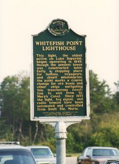 The Whitefish Point Light, a lighthouse in the Upper Peninsula of Michigan, is the oldest operating light on Lake Superior. It is arguably the most important light on Lake Superior. All vessels entering and leaving Lake Superior must pass the light. Historic Site