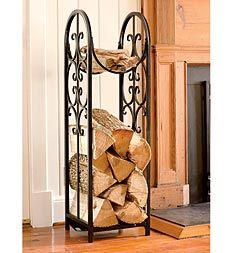 Montebello Log Rack And Cover Plow & Hearth