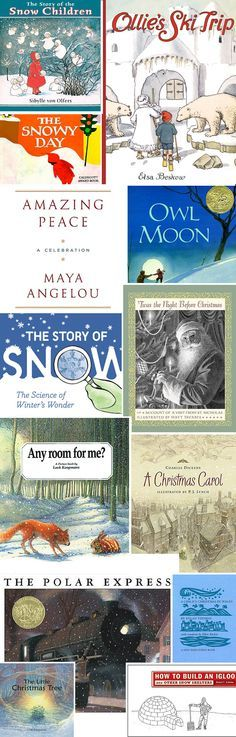 Lovely list of winter books...