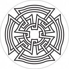 celtic maltese cross outline - Google Search                                                                                                                                                                                 More