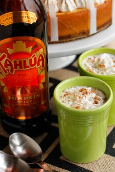 Kahlúa Pumpkin Spice Coffee -- this after dinner coffee recipe is super versatile and almost a dessert in itself! #KahluaHoliday