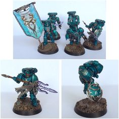 Pre-Heresy Alpha Legion Command Squad by ak1508 on @DeviantArt