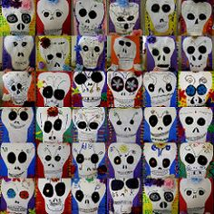 more Day of the Dead skulls | and i just decided that i migh… | Flickr