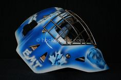 Final Airbrushed Artwork Toronto Maple Leafs theme right side with Klear Kote by airbrushed artist Cam Wilson