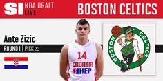 The Boston Celtics select Ante Zizic at No. 23 http://on.si.com/NBADraftLIVE  6/23/2016