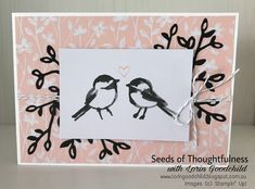 Seeds of Thoughtfulness with Lorin Goodchild Stampin' Up! Occasions 2018 CASE the Catalogue: Memories & More - Petal Passion