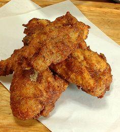 ケンタッキーフライドチキン | レシピサイトぷちぐる Fried Chicken, Tandoori Chicken, Veg Recipes, Cooking Recipes, Junk Food, Japanese Food, Chicken Wings, Bacon, Pork
