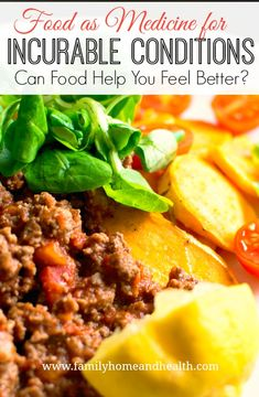 """Can food help to heal autoimmune conditions as well as other """"incurable"""" illnesses?  Find out why food might be the best medicine for you!"""