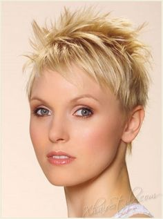 Super Short Haircuts For Women 2011 Pictures Hairstyles Design Pixel Short Hairstyles 2015, Short Blonde Haircuts, Very Short Haircuts, Funky Hairstyles, American Hairstyles, Pixie Haircuts, Hair Styles 2014, Short Hair Styles, Chic Short Hair