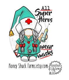 Gnome Paint, Elves And Fairies, Making Shirts, Nurse Quotes, Rock Art, Painted Rocks, Illustration, Clip Art, Superhero