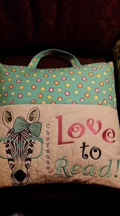 Machine Embroidery Projects Embroidered pillow zebra in glasses Pillow Embroidery, Embroidery Shop, Machine Embroidery Projects, Free Machine Embroidery Designs, Embroidery Ideas, Embroidery Stitches, Embroidered Pillows, Butterfly Embroidery, Modern Embroidery