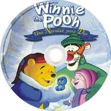 """Winnie the Pooh : una Navidad para dar . -- [Madrid] : Buena Vista Home Entertainment, 2004    1 videodisco (DVD) (60 min.) : son., col.    Nacionalidad: Estados Unidos    Basada en el trabajo de """"Winnie the Pooh"""" de A.A. Milne y E.H. Shepard . Para todos los públicos DVD  (P-AN WIN)"""