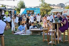 Have Food Trucks At Have Food Trucks At Your Wedding Weddingplanning Outdoorrecepti With Images Wedding Food Truck Receptions Festival Style Wedding Food Truck Wedding