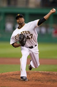 Francisco Liriano - Pittsburgh Pirates - 2013 NL Comeback Player of the Year
