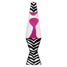 Zebra lava lamp