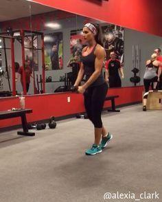 "6,462 Likes, 142 Comments - Alexia Clark (@alexia_clark) on Instagram: ""Ludicrous Lungein' You can do this as a lunge circuit or add any into your workout! 15-20 reps…"""