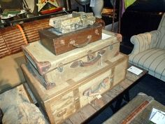 Vintage Suitcases, Andrew Martin, Image by Homegirl London