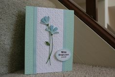 Card made with Fresh Daisies Die